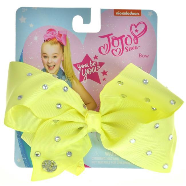 """Girls Jojo Siwa 2 Pastel Bows /& 12/"""" Tote Bag /& Gift Set"""