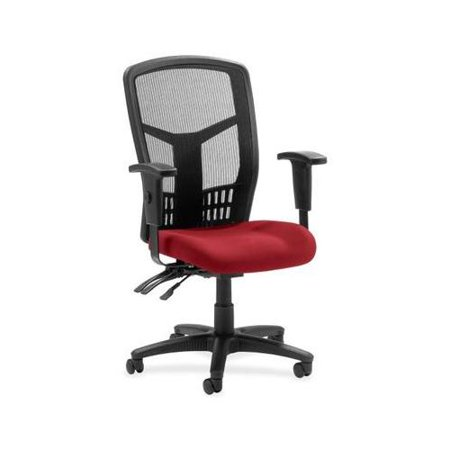 Lorell 86000 Executive Mesh - Lorell 86000 Series Executive Mesh High-Back Chair LLR8620002