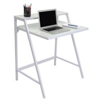 LumiSource 2-Tier Desk, Multiple Colors
