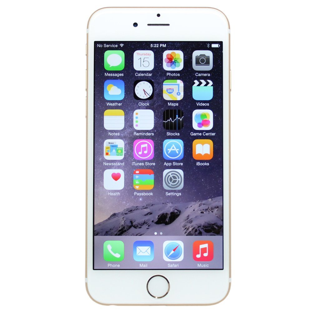 Refurbished Apple iPhone 6 64GB, Space Gray - Locked AT&T