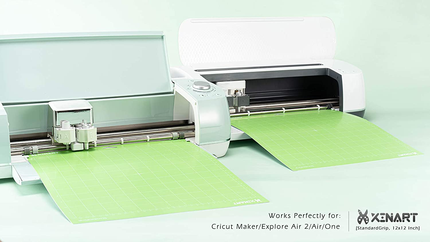 CAREGY Replacement Cutting Mat 12x12 3Pack for Cricut Maker//Explore Air 2//Silhouette Cameo Adhesive Sticky Variety-StrongGrip,LightGrip,StandardGrip