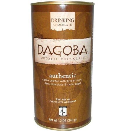 Organic Drinking Chocolate - Dagoba Organic Chocolate, Drinking Chocolate, Authentic, 12 oz (pack of 4)