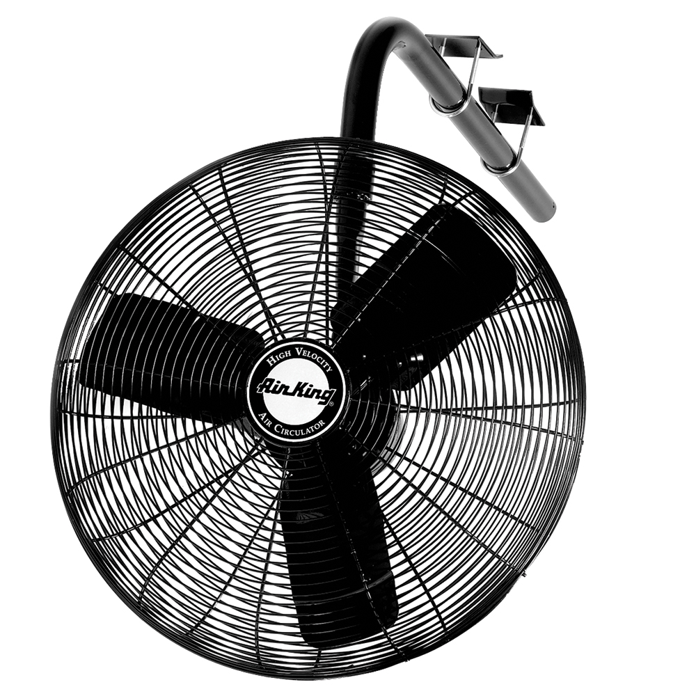 Air King 9675 30 inch 1/3HP Oscillating I-Beam Mount Fan
