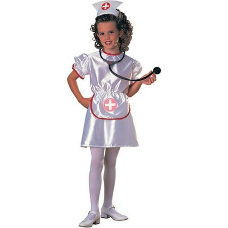 Child Girl's Nurse Costume Rubies 881925 (Nurses Halloween Costume)