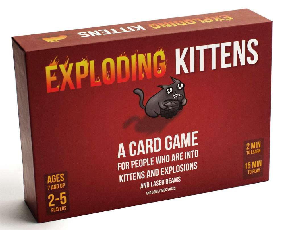 Exploding Kittens Card Game by Exploding Kittens LLC
