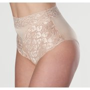 1-Pack Wearever Women's Lovely Lace Trim Incontinence Panties - Washable Reusable Bladder Control Briefs - Single Panty