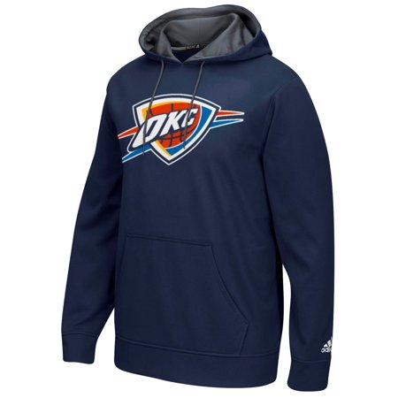 "Oklahoma City Thunder Adidas 2016 NBA ""Playbook"" Mens Hooded Sweatshirt by"
