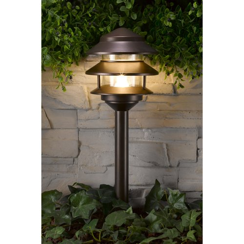 Westinghouse Stainless Steel Low Voltage Pathlight, Remington Bronze Finish