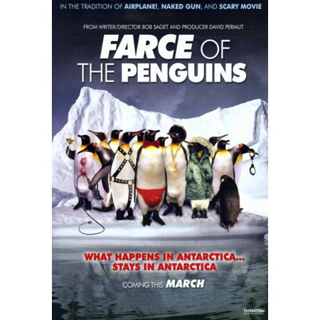 Farce of the penguins movie poster print 27 x 40 for Farcical films