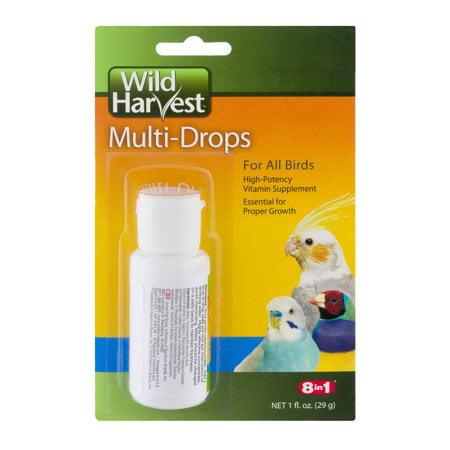 (2 Pack) Wild Harvest for All Birds Vitamin Supplement, 1.0 fl