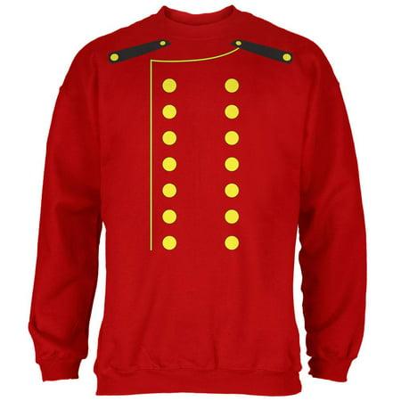 Halloween Skeleton Sweatshirt (Halloween Hotel Bellhop Costume Red Adult)