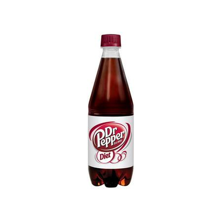 Dr Pepper Museum - Diet Dr. Pepper, 16.9 Fluid Ounce Bottles (Pack of 24)