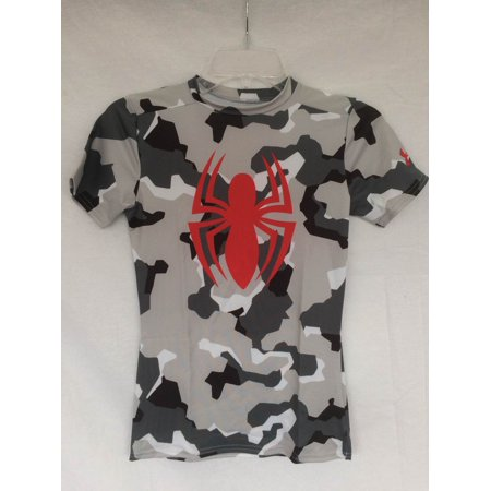 6438eee6 Under Armour - Boys Under Armour 1244392 Alter Ego Spiderman Camo Graphic T-Shirt  Youth Medium - Walmart.com