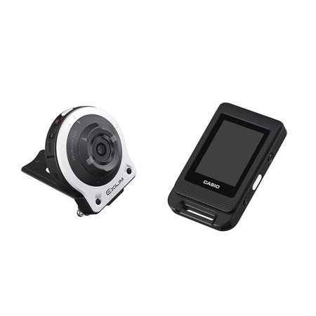 CASIO EX-FR10 EXILIM Life Style Digital Separable Action Camera 14.1 MP, 2