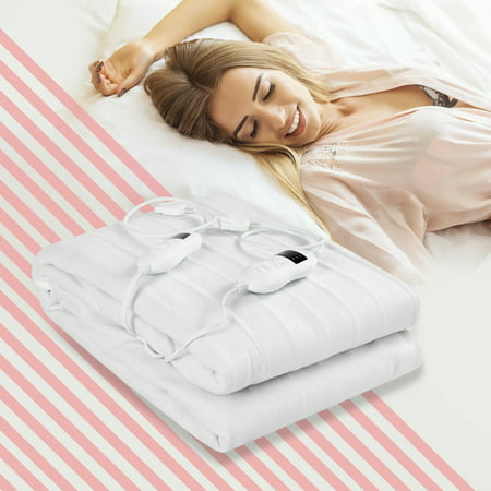 Electric Heated Mattress Pad Safe King 8 Temperature 10h Timer - image 10 of 10