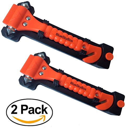 Value 2 Pack - Emergency Escape Tool Auto Car Window Glas...
