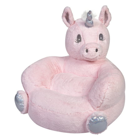Unicorn Plush Character Chair Pink - Trend Lab
