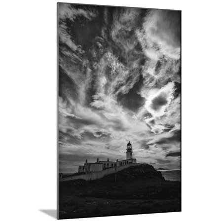 Light Change Over Lighthouse Wood Mounted Print Wall Art By Rory Garforth