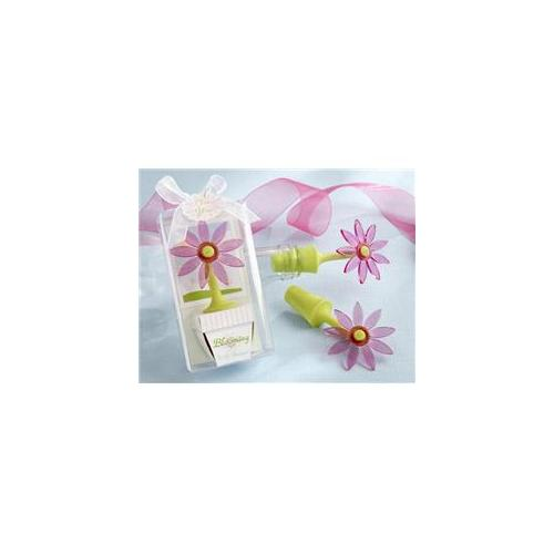 Kate Aspen 18022PK Inch Blooming Inch Flower Bottle Stopper in Whimsical Window Gift Box- Case of 96