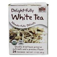 NOW Foods - Delightfully White Tea - 24 Tea Bags