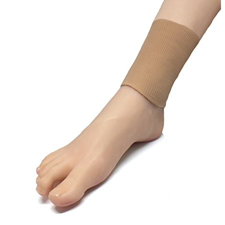 Padded Ankle Cuff - zentoes gel lined ankle pads protector sleeve