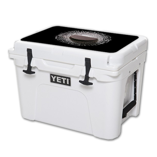 MightySkins Protective Vinyl Skin Decal for YETI Tundra 35 qt Cooler Lid wrap cover sticker skins Hockey