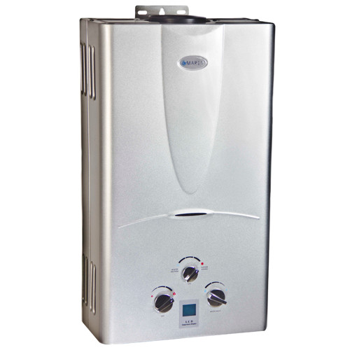 Marey 31 GPM Tankless Natural Gas Hot Water Heater Digital Display