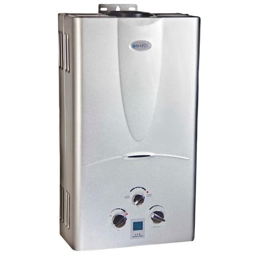 Marey 3.1 GPM Tankless Natural Gas Hot Water Heater Digital Display GA10NGDP
