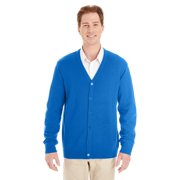 Mens Pilbloc V Neck Button Cardigan Sweater