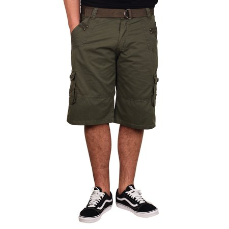 OLD SKOOL Garment Washed Cotton Cargo Shorts (Back To The Old Skool Club Classics)