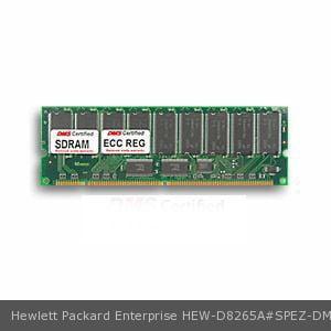 DMS Compatible/Replacement for Hewlett Packard Enterprise D8265A#SPEZ NetServer LP1000r 128MB DMS Certified Memory PC133 16X72-7 ECC/Reg. 168 Pin  SDRAM DIMM 18 Chip (16x8) - DMS