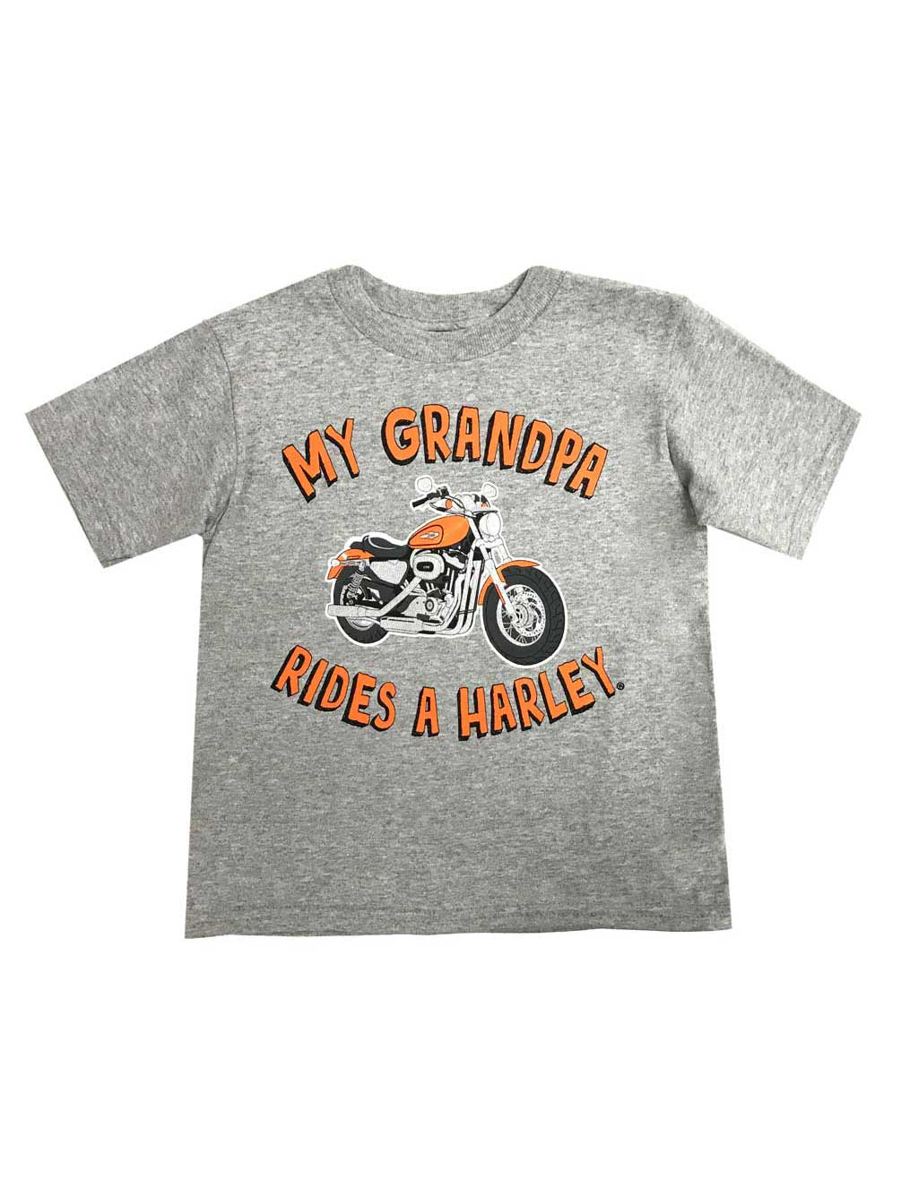 Harley-Davidson Little Boys/' My Grandpa Rides A Harley Toddler T-Shirt 1570706