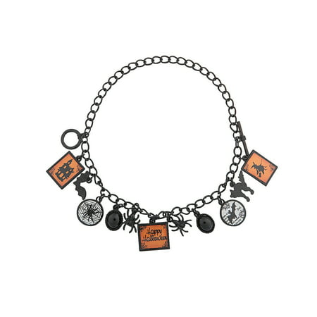 Fun Express - Spooky Spider Bracelet ck for Halloween - Craft Kits - Adult Jewelry Craft Kits - Adult Bracelet - Halloween - 2 (Spider Bracelet Craft)