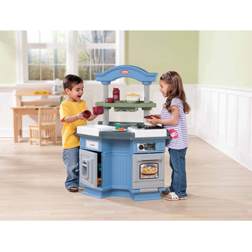 Little Tikes Sizzle U0027n Pop Kitchen   Walmart.com
