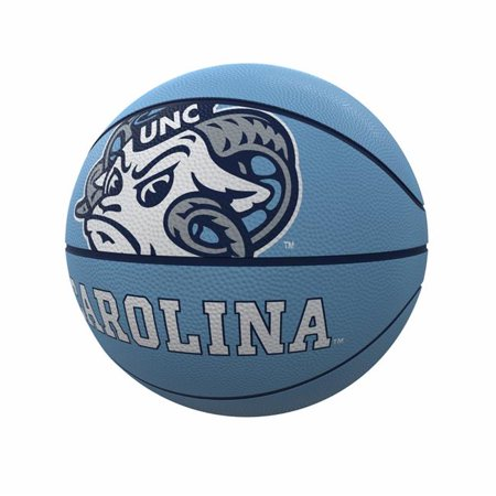 Logo Brands 185-91FR-1 Ballon de basket-ball en caoutchouc de taille officielle mascotte Caroline du Nord - image 1 de 1