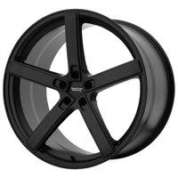 American Racing blockhead 22x9 5x115 20et 72.60mm satin black wheel