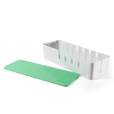 Cable Management Box Cord Organizer - Green Large 15\