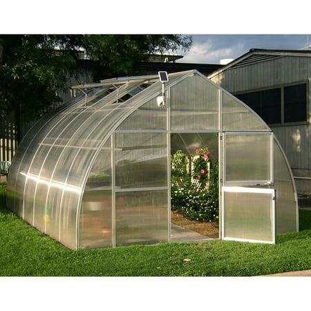 Riga Greenhouse - Hoklartherm RIGA XL 14.1 x 19.8-ft. Greenhouse Kit with Optional Foundation Frame