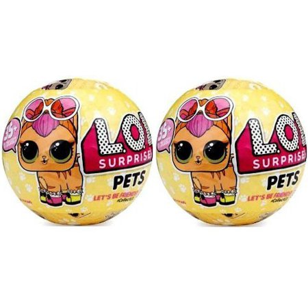 Lol Surprise Series 3 Pets Lot Of 2 Mystery Packs