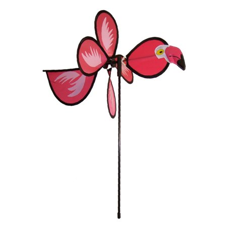 - In the Breeze Flamingo Baby Bird Spinner