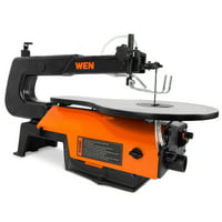 WEN 16-inch Variable Speed Scroll Saw with Easy-Access Blade Changes, 3922