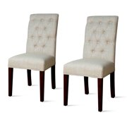 Gwendoline Tufted Parson Dining Chair (Set of 2), Multiple Colors