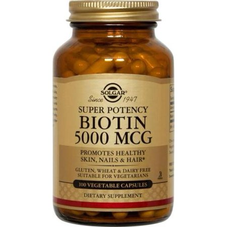 Biotin 5000 mcg Solgar 100 VCaps