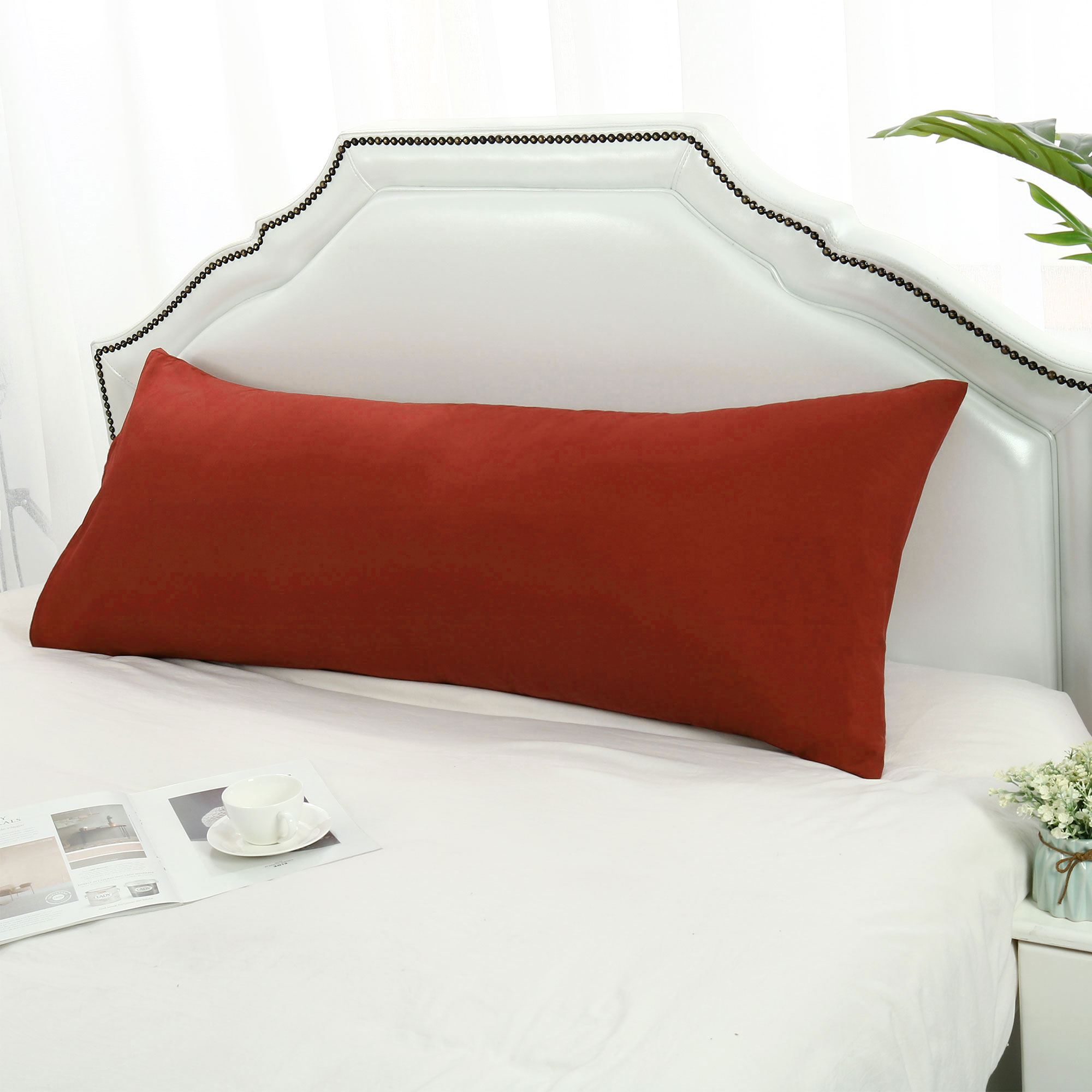 2 Pcs Travel Size Pillowcases Soft 1800 Microfiber Pillow Case Covers 17 Colors