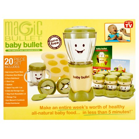 magic bullet baby bullet the complete baby food making system. Black Bedroom Furniture Sets. Home Design Ideas