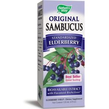 Vitamins & Supplements: Nature's Way Sambucus Original Elderberry Syrup