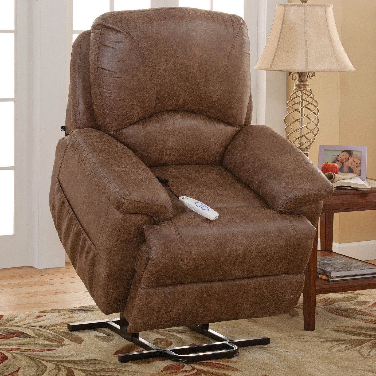 n brown chairs furniture depot ds recliner swivel fabric room hill coffee recliners living pri lift chair power b birch the serta home