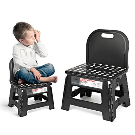 Excellent Acko Folding Step Stool With Back For Children Anti Slip And Easy Cleaning Perfect Height For Toddler Toilet Training Or Kids Bathroom And Kitchen Gmtry Best Dining Table And Chair Ideas Images Gmtryco