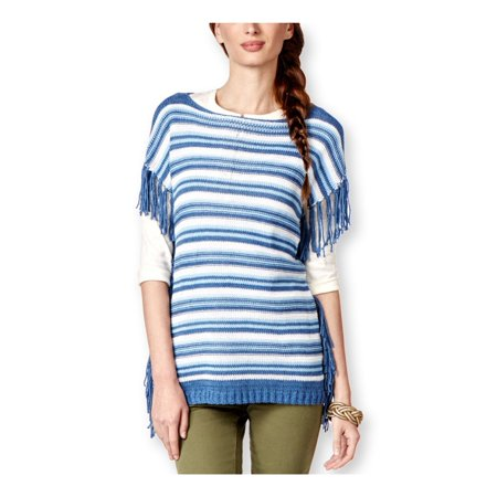 - American Living Womens Striped Boat-Neck Pullover Sweater