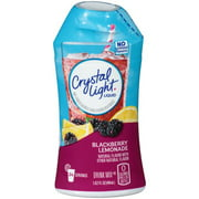 (6 Pack) Crystal Light Liquid Blackberry Lemonade Drink Mix, 1.62 fl oz